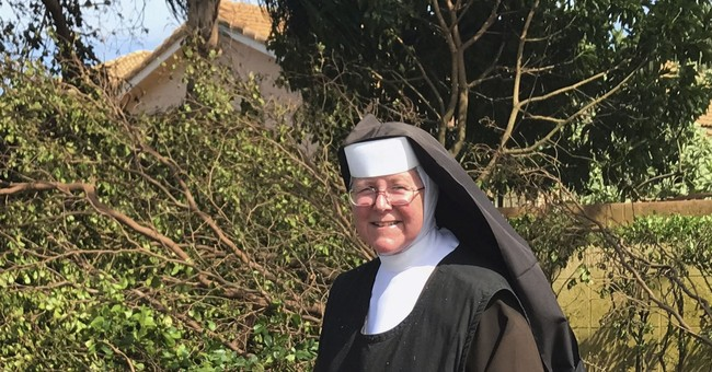 Internet Goes Nuts Over Chainsaw-Wielding Nun Cleaning Up After Hurricane Irma