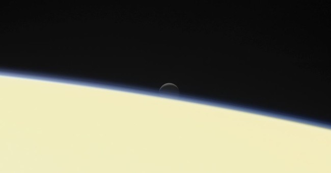 Farewell from Cassini