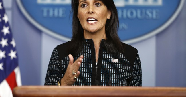 Nikki Haley to UN: 'Our Principles Are Not Up For a Vote'