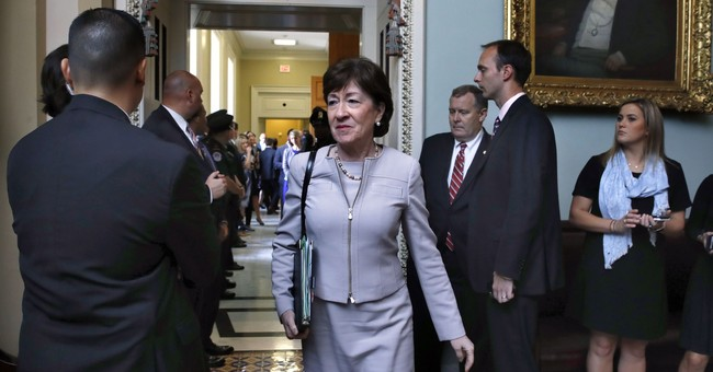 Republican Sen. Collins: 'Very hard to envision' voting for health care bill