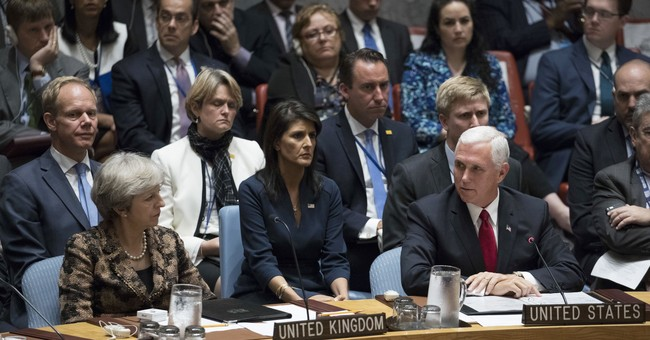 Pence Accuses UN Human Rights Council of Anti-Semitism