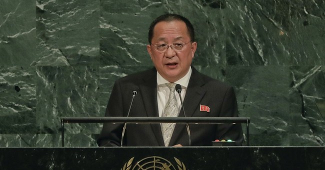 North Korea's Foreign Minister: Trump's Latest Threat 'A Declaration of War'