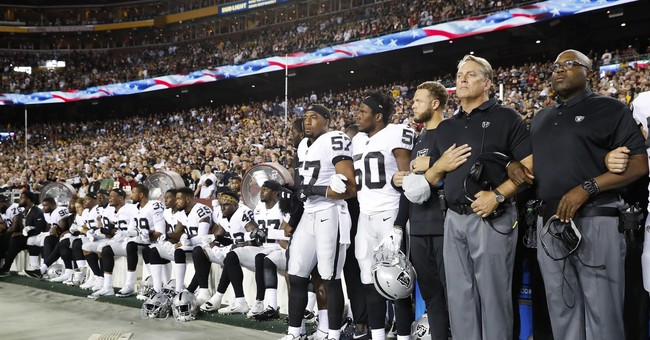 950697655 townhall.com Don't talk about mom: NFL players angry over Trump's insult