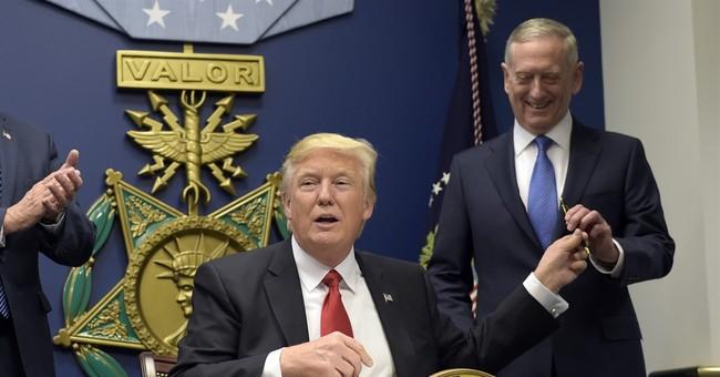 President Trump: Mattis is 'Sort of a Democrat'