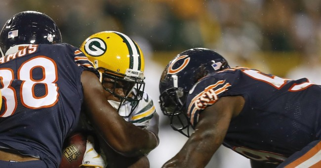 Mike Glennon has four turnovers in Bears' loss to the Packers