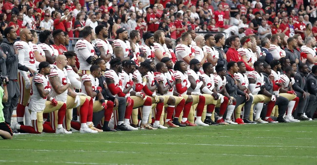 Landslide: Nearly 80 Percent of Football Fans Oppose Anthem Protests