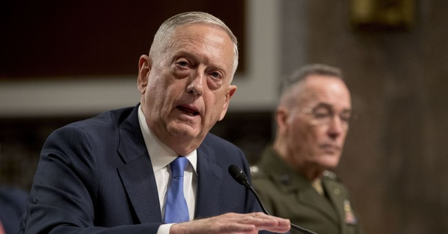 Mattis: Report that Trump Wanted Tenfold Nuclear Increase 'Absolutely False' and 'Irresponsible'
