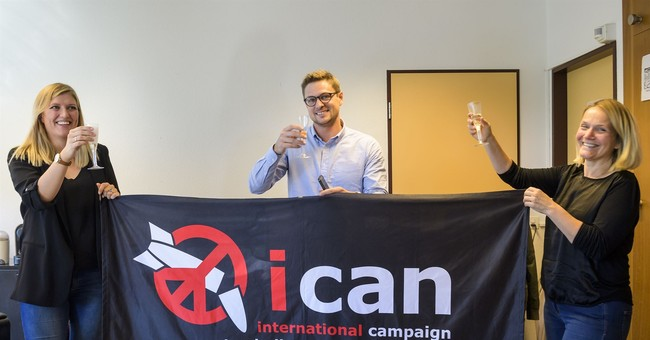 Nobel Peace Prize Awarded to International Campaign to Abolish Nuclear Weapons