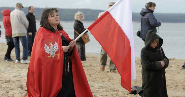 Polish People Pray for Protection from Islamic Invasion