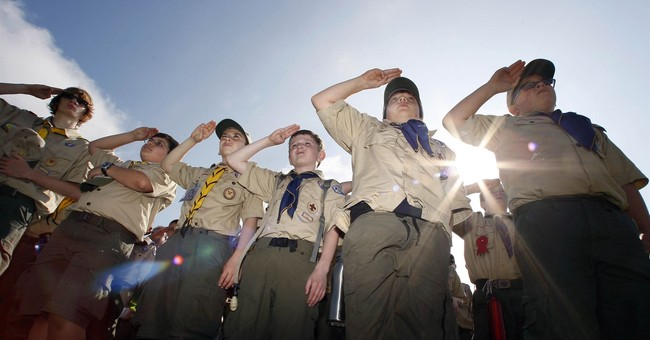 Boy Scouts, or One of the Girls?