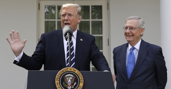 Trump Says He's 'Closer Than Ever' with McConnell