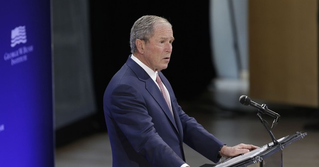 George W. Bush Bashes Trumpism--Gets It Wrong on All Three Counts