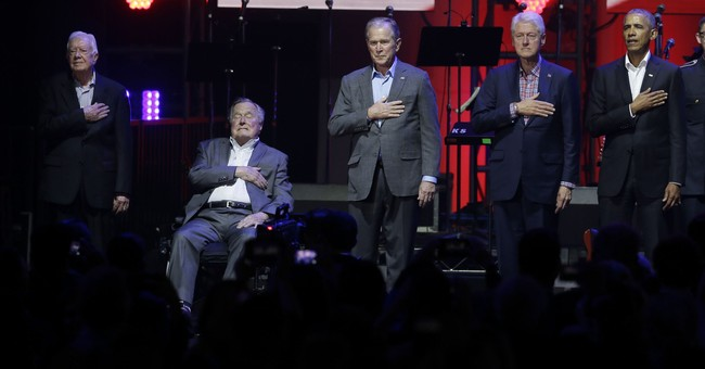 Internet Goes Wild Over Gif of President Bush Cracking up President Obama