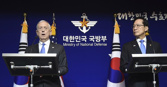 Mattis: The Nuclear Threat From North Korea Is 'Accelerating'