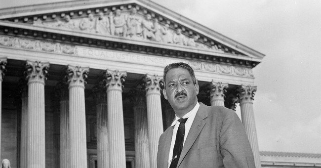 Thurgood Marshall: An Old School Liberal That Today's Liberals Should Follow
