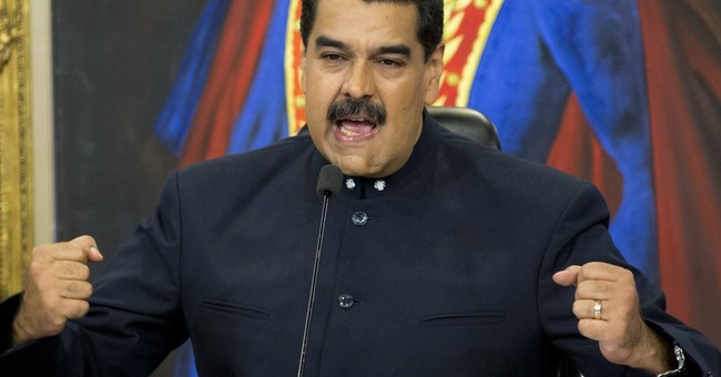 Socialist Venezuelan President Eats Empanada During TV Broadcast While His Nation is Starving