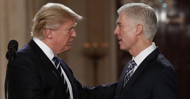 Liberals Are Now Claiming Trump 'Stole' Gorsuch Seat From Obama