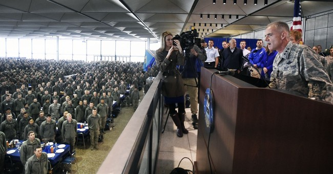 At Air Force Academy, A Perfect Hoax For The Age Of Trump