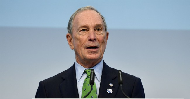Columnist Urges 'Centrist' Michael Bloomberg To Run For President