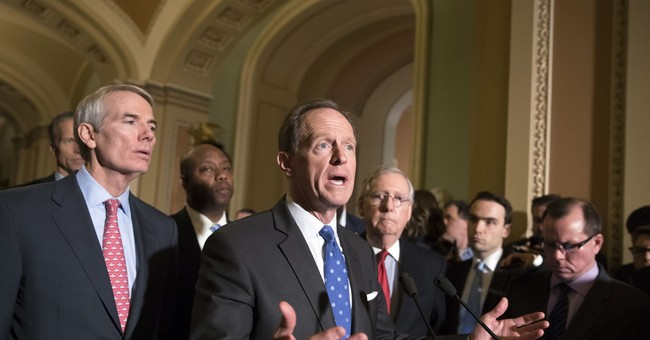 Toomey calls for 'conversation' about impeaching state Supreme Court justices