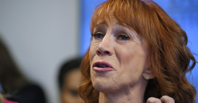 It's Trump's Fault: Kathy Griffin in ER With 'UNBEARABLY PAINFUL' Symptoms