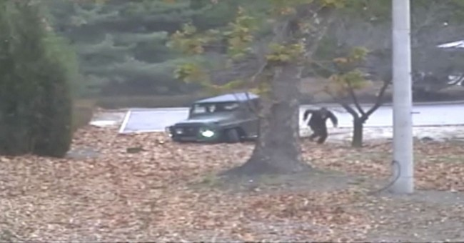 The North Korean Defector's Escape was Caught on Camera