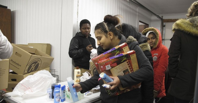 Take Tribal Politics Out of Shutdown Debate and Think About the Guy at the Food Pantry