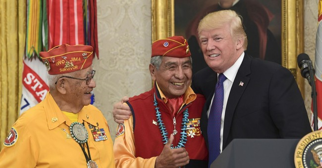 Guess Who Wasn't Offended by Trump's 'Pocahontas' Remark