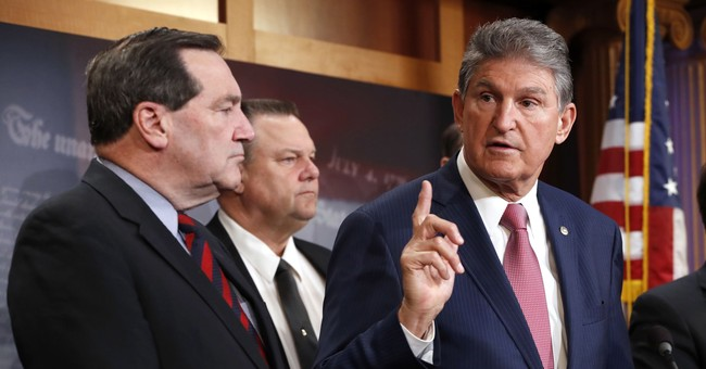Trump Criticizes Manchin: 'He Talks But He Doesn't Do Anything'