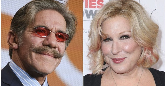 Geraldo Rivera Apologizes To Bette Midler for Drugging and Groping Her in the 70s