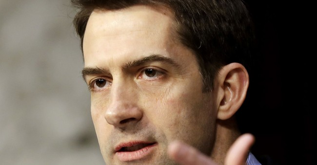 New York Times Reporters Befoul Themselves Over an Tom Cotton Op-Ed
