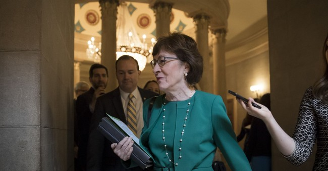 Susan Collins is a 'Yes' On Tax Reform Bill