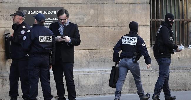 Knife-Wielding Terrorist Shot Near The Louvre