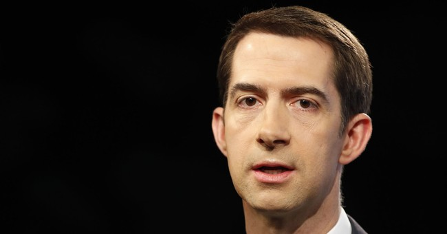 Oh Please: Tom Cotton Sees Past Dems Still Not Happy With Trump's Immigration Offer
