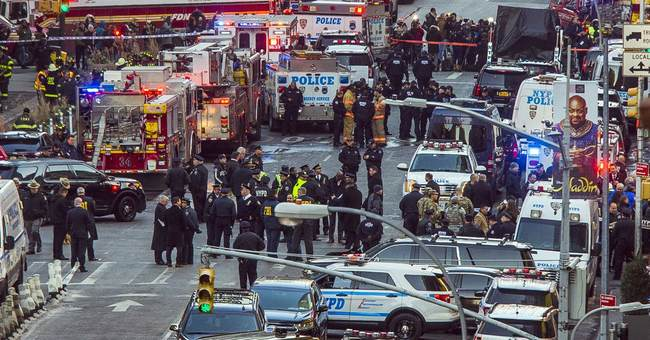 BREAKING: Explosive Device Goes Off at NYC Subway Station, Terrorist ID'd