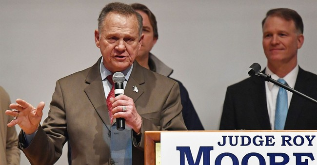 Alabama GOP to Moore: Um, the Race Is Over