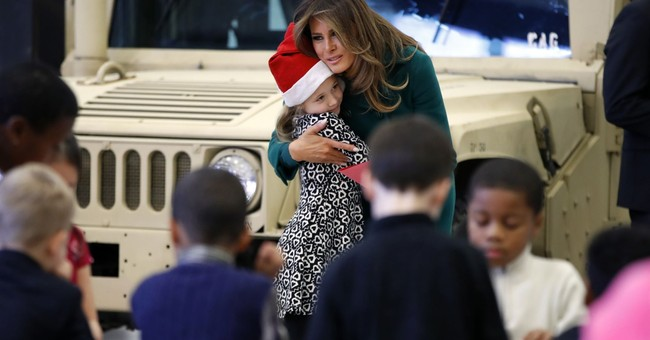 Majority of Americans Have a Favorable View of First Lady Melania Trump