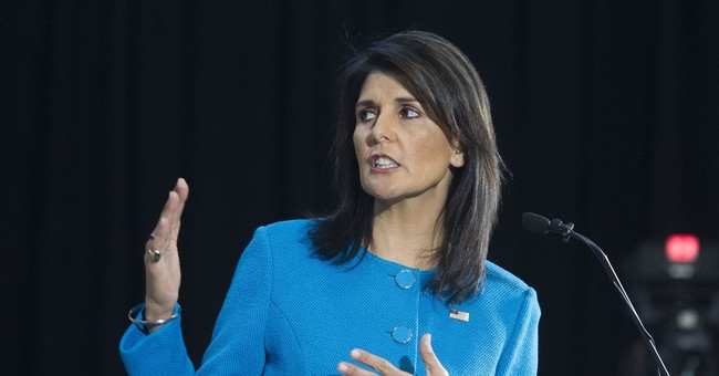 Smeared: Nikki Haley And The Totally Unsubstantiated Allegation That She's Having An Affair With Trump