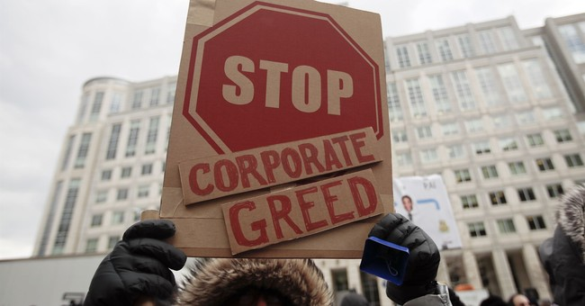 "Socialists' Attack On ""Greed"" Is Really Concealed Envy"