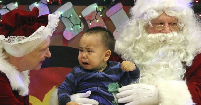 That's Not the Real Santa: Boy Cries After St. Nick Tells Him No Nerf Guns For Christmas