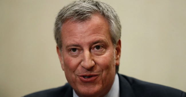 Bill de Blasio's 'Job Creation' Means Hiring People to Pick Up Junkies' Needles From NYC Parks