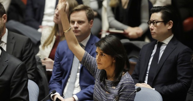 Haley: The US Will Remember Today's UN Vote