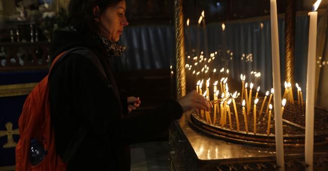 Christians Celebrate the Birth of Jesus in Bethlehem