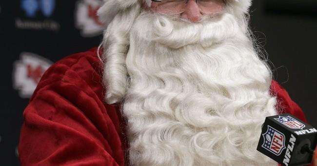 Bah, Humbug! Mall Fires Santa for Wearing Trump Hat