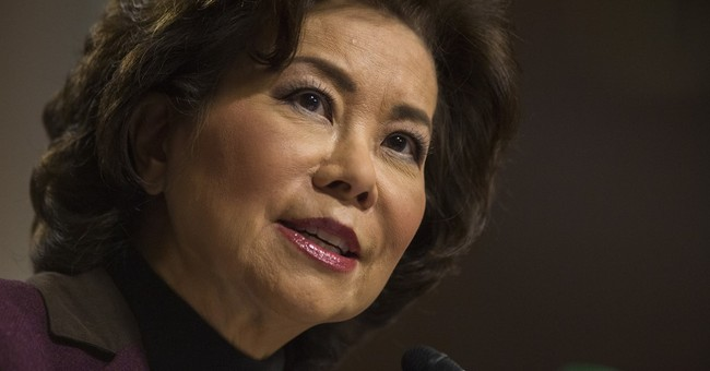 Elaine Chao Says She Had a 'Me Too' Moment and Women Can't Let It Hold Them Back