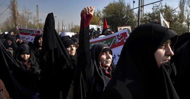 Iranians protest at corrupt clerics as inflation soars