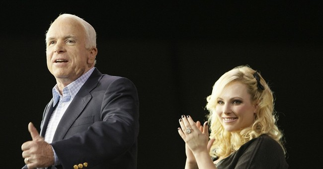 Meghan McCain Confronts ACU Chair Over CPAC Booing Her Father