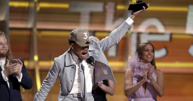 Watch Chance the Rapper Dedicate His Grammy To God