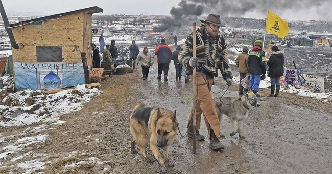 North Dakota Pipeline Protesters Not Only Left Mountains of Garbage, They Also Abandoned Their Pets