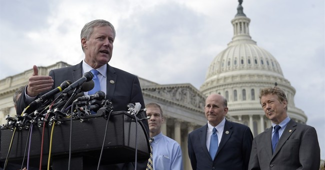 Hmm: House Freedom Caucus, Moderates Closing in on Healthcare Compromise?